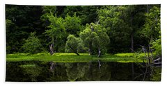 Maine Reflections Bath Towel