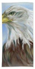 Majestic Bald Eagle Hand Towel