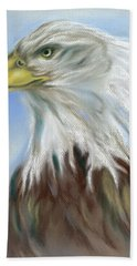 Majestic Bald Eagle Bath Towel