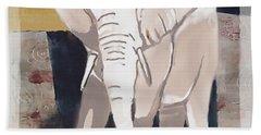 Majestic Elephant Hand Towel