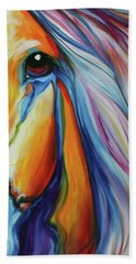 Majestic Equine 2016 Hand Towel by Marcia Baldwin