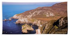 Majestic Glenlough - County Donegal, Ireland Bath Towel