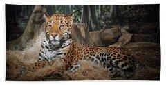 Majestic Leopard Hand Towel