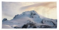 Bath Towel featuring the photograph Majestic Mt. Hood by Ryan Manuel