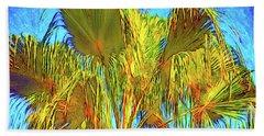 Majestic Palm Hand Towel by Gerhardt Isringhaus