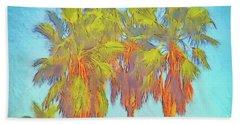 Majestic Palms Hand Towel by Gerhardt Isringhaus