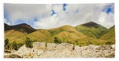 Majestic Rugged Australia Landscape  Hand Towel