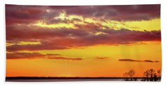 Majestic Sundown Hand Towel