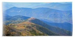 Majestic White Mountains Hand Towel