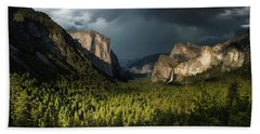 Majestic Yosemite National Park Hand Towel