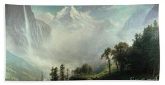 Majesty Of The Mountains Bath Towel
