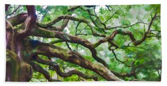 Majesty - The Angel Oak Hand Towel