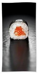 Maki Sushi Roll With Salmon Hand Towel