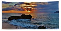 Makua Sunset Bath Towel