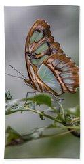 Malachite Butterfly Profile Hand Towel