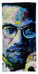 Malcolm X Bath Towel