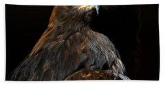 Maleficent Golden Eagle Hand Towel