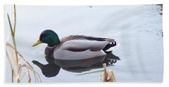 Mallard Reflected Hand Towel