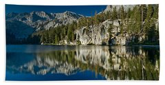 Mammoth Lakes Reflections Hand Towel