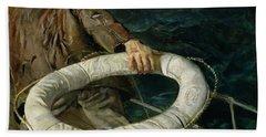 Man Overboard, 1906 Bath Towel