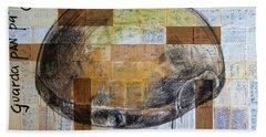 Mana' Cubano Bath Towel by Jorge L Martinez Camilleri