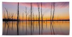 Manasquan Reservoir Long Exposure Hand Towel