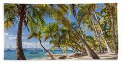 Bath Towel featuring the photograph Manchioneel Bay, Cooper Island by Adam Romanowicz