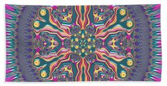 Bath Towel featuring the digital art Mandala 467567678 by Robert Thalmeier