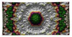 Bath Towel featuring the digital art Mandala 467567678975 by Robert Thalmeier