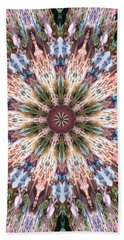 Mandala Of Blossom Bath Towel