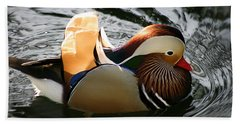 Mandarin Duck Bath Towel