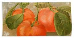 Mandarins Hand Towel
