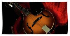 Mandolin Guitar 66661 Hand Towel