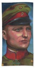 Manfred Von Richthofen The Red Baron Bath Towel