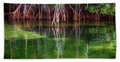 Mangrove Reflections Hand Towel