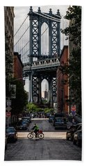 Manhattan Bridge  Hand Towel