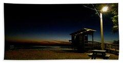 Manns Beach Nocturnal 2 Hand Towel