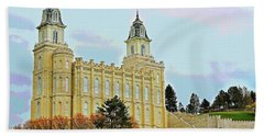 Manti Temple Hand Towel