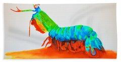 Mantis Shrimp Bath Towel