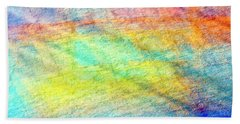 Map Of The Universe Bath Towel