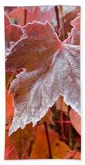 Maple Frost  Bath Towel