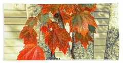 Bath Towel featuring the photograph Maple by Ronda Broatch