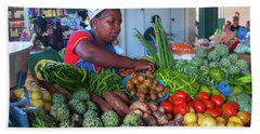 Maputo Market Hand Towel