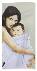 Mara And Il Bambino Hand Towel