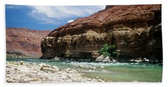 Marble Canyon Hand Towel by Kathy McClure