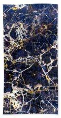 Marble Stone Texture Wall Tile Hand Towel by John Williams