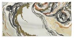 Marbled Pattern Hand Towel