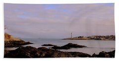 Marblehead Harbor And Light Hand Towel