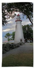 Bath Towel featuring the photograph Marblehead Ohio by Angela Murdock