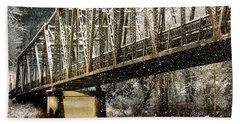 Marblemount Wa Bridge Bath Towel